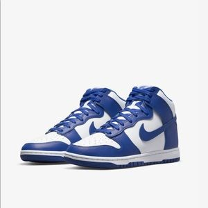 NWT NEW IN BOX Nike Dunk High in Game Royal